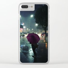 The Raindrops Clear iPhone Case