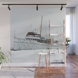 SS Keewatin in Winter White Wall Mural