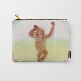 Save the Orangutan - Endangered Species 6 Carry-All Pouch