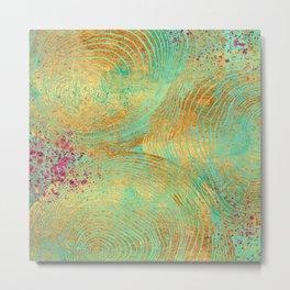 Jungle Theorem Abstract II Metal Print