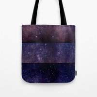 celestial Tote Bags featuring Celestial by E.M. Shafer