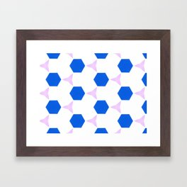 Van Pelt Pattern Framed Art Print