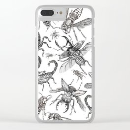 Infest Clear iPhone Case