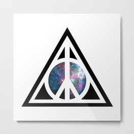 Peace for Wizards Metal Print