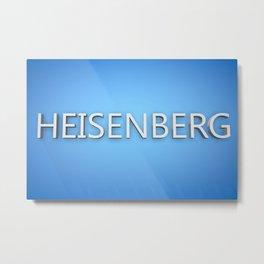 Heisenberg. Metal Print