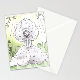 Empire of Mushrooms: Lycoperdon perlatum Stationery Cards