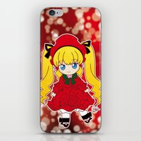 chibi iPhone & iPod Skins featuring Chibi Shinku by Yue Graphic Design