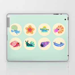 Hermit crab & starfish Laptop & iPad Skin