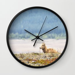 Little Boy Blue Wall Clock