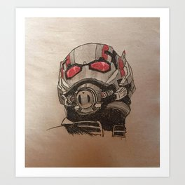Ant-man Art Print