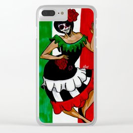 Mexicans, At The Cry Of War Clear iPhone Case