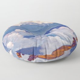 Nicholas Roerich - Pearl Of Searching - Digital Remastered Edition Floor Pillow