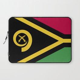 Vanuatu flag emblem Laptop Sleeve