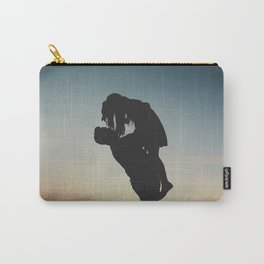 WOMAN - MAN - MOON - SUNSET - PHOTOGRAPHY Carry-All Pouch