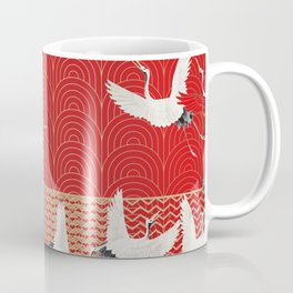 FLYING CRANES Coffee Mug