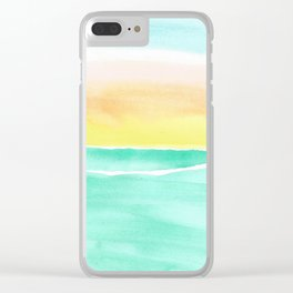 skyscapes 9 Clear iPhone Case