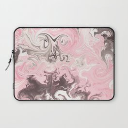 Modern pastel colors abstract watercolor marble Laptop Sleeve