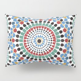 Moroccan Tiles Pillow Sham