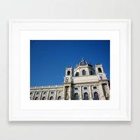 vienna Framed Art Prints featuring Vienna  by Senorita
