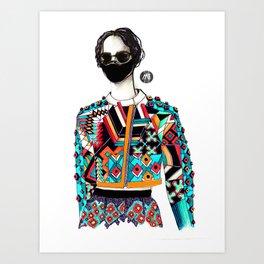 Silent Disco Art Print