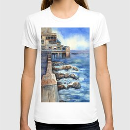 Walking with Steinbeck on Cannery Row T-shirt