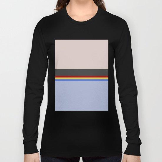 Wesley Crush er - Minimalist Star Trek TNG The Next Generation - 1701 D - startrek - Trektangles Long Sleeve T-shirt