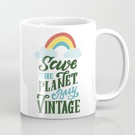 Save the planet. Buy vintage Coffee Mug