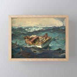 The Gulf Stream by Winslow Homer, 1899 Framed Mini Art Print