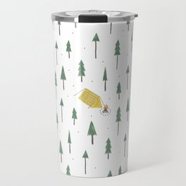Camping in the woods Travel Mug