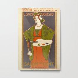 Vintage poster - Louis Rhead Metal Print