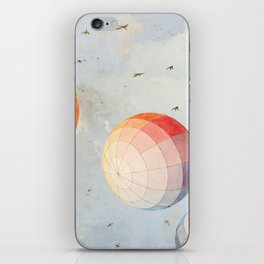 I found you falling from the sky iPhone Skin