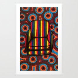 Chair 002 Art Print