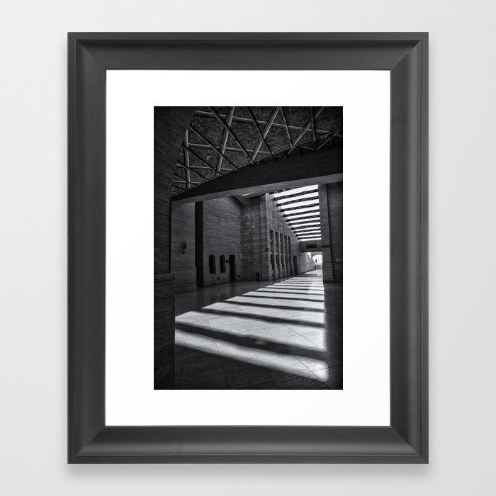 Katara Amphitheater, Doha Framed Art Print