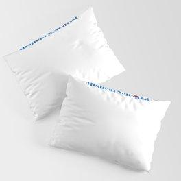 Medical Scientist Ninja in Action Pillow Sham