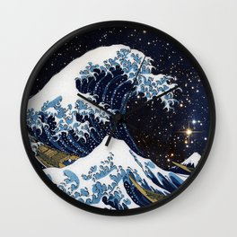 Hokusai & LH95 Wall Clock