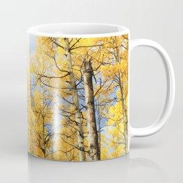 Golden Walk Through Aspen Lane Coffee Mug