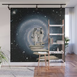 Leaving the Milky Way Wall Mural