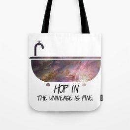 Galaxy Tub Tote Bag
