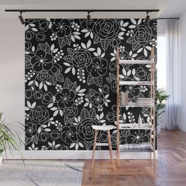 Rosalia Black Wall Mural