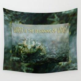 Wonder Wisdom Wall Tapestry