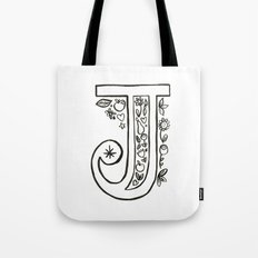 j is for Tote Bag