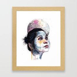 Solemn Invocation Framed Art Print