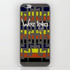 Eastachi -Wezteka Union. iPhone & iPod Skin