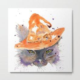 Halloween Cat 2016 Metal Print