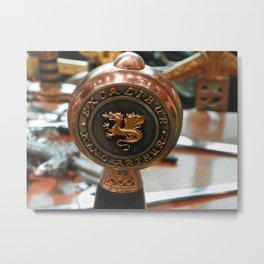 excalibur Metal Print