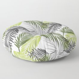 Palm tree leaf Floor Pillow