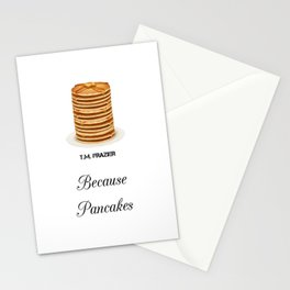 T.M. FRAZIER - Because Pancakes Stationery Cards