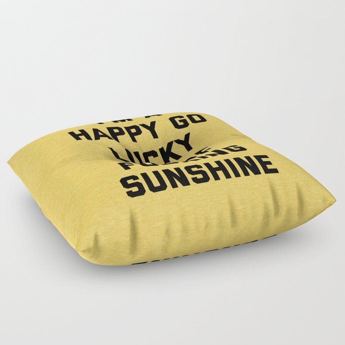 Ray Of Fucking Sunshine Funny Quote Floor Pillow