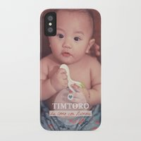 tim shumate iPhone & iPod Cases featuring Tim by Ben Nguyen