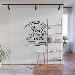 Ven para mearte insecto Wall Mural